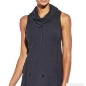 Calia Carrie Underwood sleeveless cowl neck hoodie